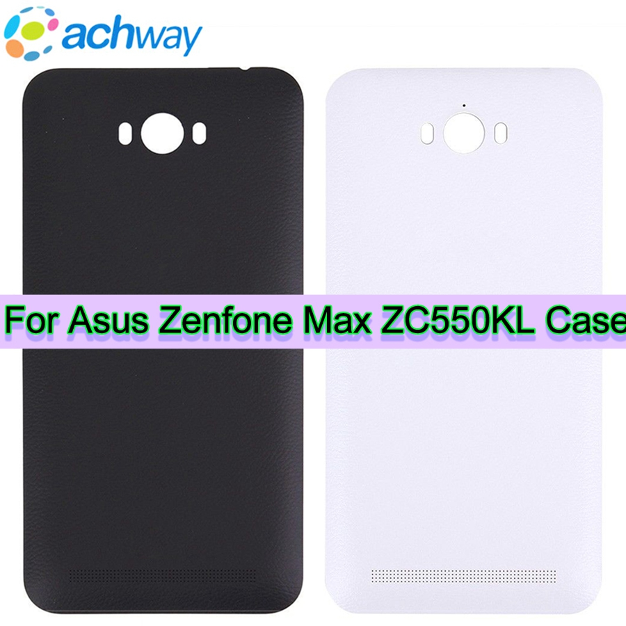 Original Housing for ASUS Zenfone MAX Back Cover Case ZC550KL Battery Rear Door with Voluem Power Button (2)