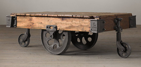 american country style loft industrial complex old cast iron scooters engraved wooden coffee table furniture specials american retro style industrial furniture desk