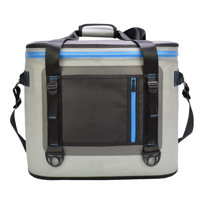 Travel Bag Portable Cooler Bag Ice Pack Fresh Keeping for Food Taking Lunch Camping Picnic Sea Fishing Trip to Beach Weekender