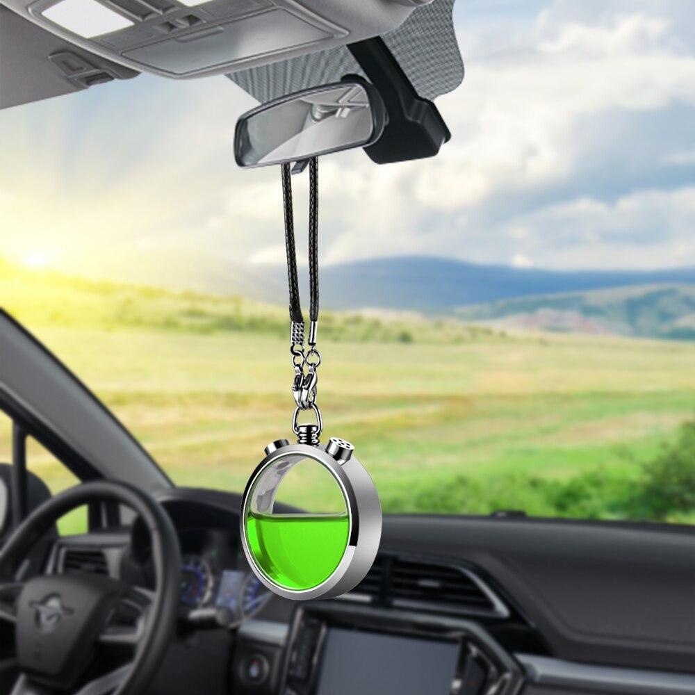Ambientador de aire del coche Perfume colgante Auto Interior espejo retrovisor de fragancia de aceite esencial aroma olor difusor Accesorios