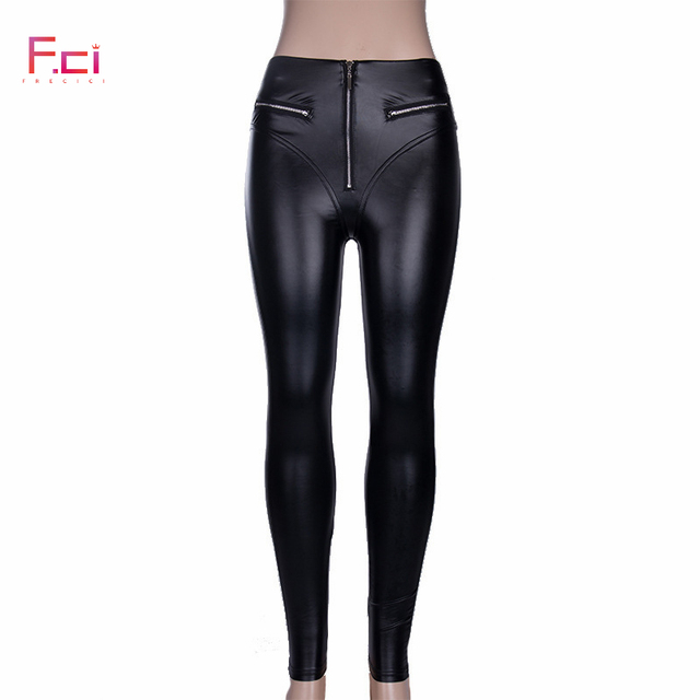 Sexy PU leather Legging 8
