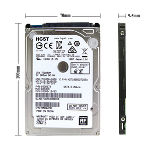 "Image 3 - HGST Brand Laptop PC 2.5 ""1000GB SATA3 HTS721010A9E630 1TB Notebook hdd hard disk drive 6GB/S 7200RPM"