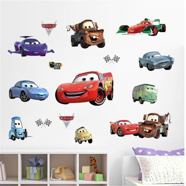 3D Disney Cars Stickers 2