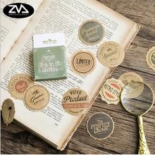 45 Pcs/box Vintage memory mini Paper Decoration DIY Scrapbook Notebook Album seal Sticker Stationery Kawaii Girl