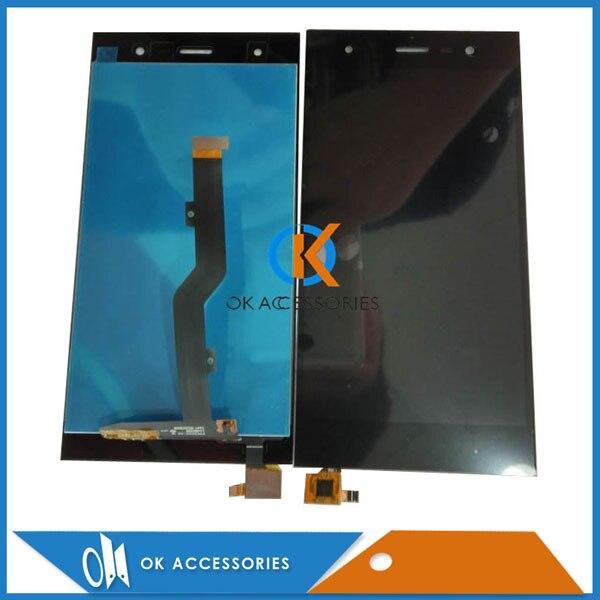 Color negro para Infinix ZERO 3X552 pantalla LCD con pantalla táctil digitalizador reemplazo de montaje 1 Pza/lote