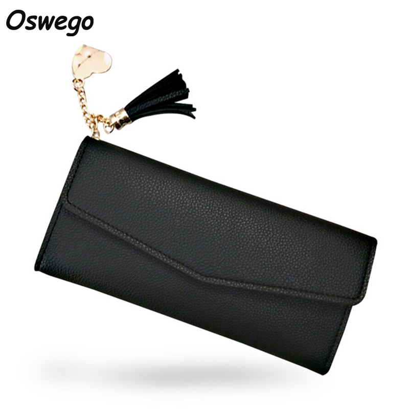 Tassel Solid Lychee Embossed PU Leather Women Long Wallet Metal Heart Charm Clutch Phone Coin Money Card Holder Purse for Ladies kulpin s social natural history selected lectures of i xvi schools human being and nature problems of social natural history 1992 2007