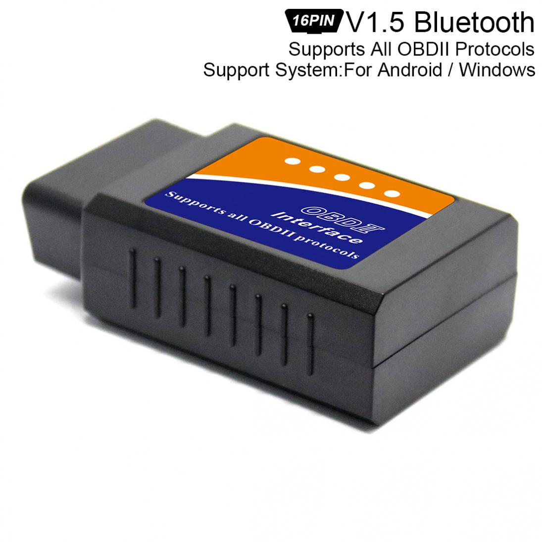 ELM327 V 1,5 Chip Super Mini Bluetooth Scanner Wireless Interface Auto Auto Interface Code Leser Diagnose Werkzeug OBDII Protokolle