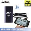 8 MM WIFI Inalámbrico USB Endoscopio Boroscopio Cámara de Inspección Tubo de La Serpiente Tubo Impermeable MINI Cámara Con 2 M de Cable Para Android IOS