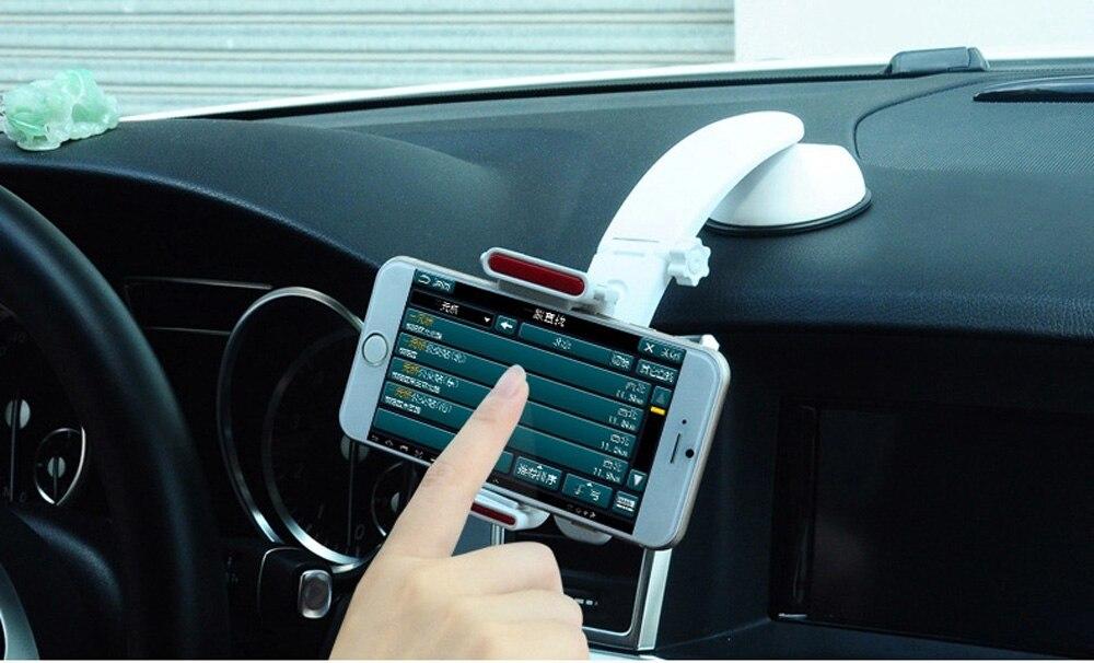 Car Air vent Clip Aspiration Dashboard Stand Mobile Téléphone Support Voiture Pour Sony Xperia XZ1 Compact/XZ1/XA1 Plus, Doogee Mix Lite