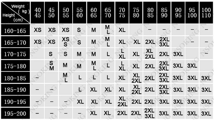 XS-3XL2