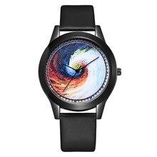 Ebay Explosive Leisure Ladies Quartz Watch Fashion Black Box Belt Women Horloges Vrouwen Relogio Feminino