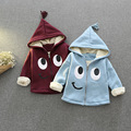 Fashion Spring boys grils cardigan coat Children's eye pattern clothes kid zipper nap jacket outerwear cartoon tops