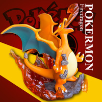 NEW hot 15cm Charizard pokemon Pikachu collectors action figure toys Christmas gift doll toys for children