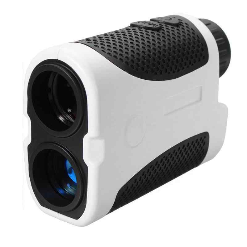 DIY Protable 400 M Berburu Golf Digital Laser Range Finder LED Berburu Lereng Kompensasi Sudut Scan Teropong Pengintai