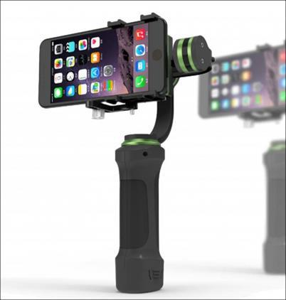 Lanparte HH-01 professional mobile phone 3 Axis Gimbal stabilizer 3-axis Brushless handheld smartphone steadicam steadycam