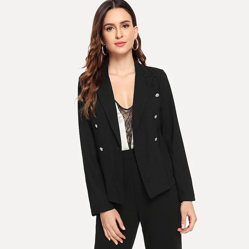Fashion Basic Jacket Blazer Female Jacket Blazers Slim Short Suit Women Casual Office Short Jacket Long Sleeve Blazers