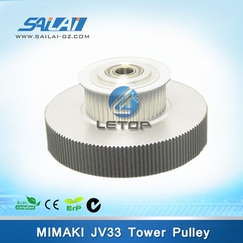 Good quality!!Printer spare parts mimaki JV33 tower timing pulley