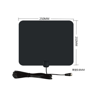 Image 3 - Vmade HD הדיגיטלי Amplified טלוויזיה אנטנה 120 קילומטרים טווח טלוויזיה ISDB ATSC DVB T DVB T2 טלוויזיה מקורה אנטנה עבור DVB T2 לווין מקלט