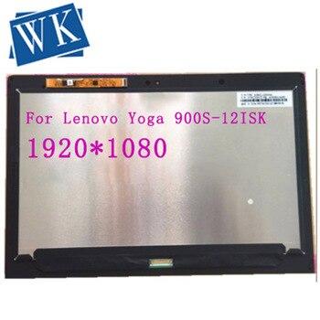"12.5"" Full LCD Display Touch Screen Digitizer Assembly Yoga 900S 2560*1600 1920*1080 For Lenovo Yoga 900S-12ISK 80ML"