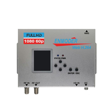 H.264 кодирование HD-MI и AV в DVB-T и DVB-C 2в1 цифровой RF кодировщик модулятор через веб-управление EMB380WHTC