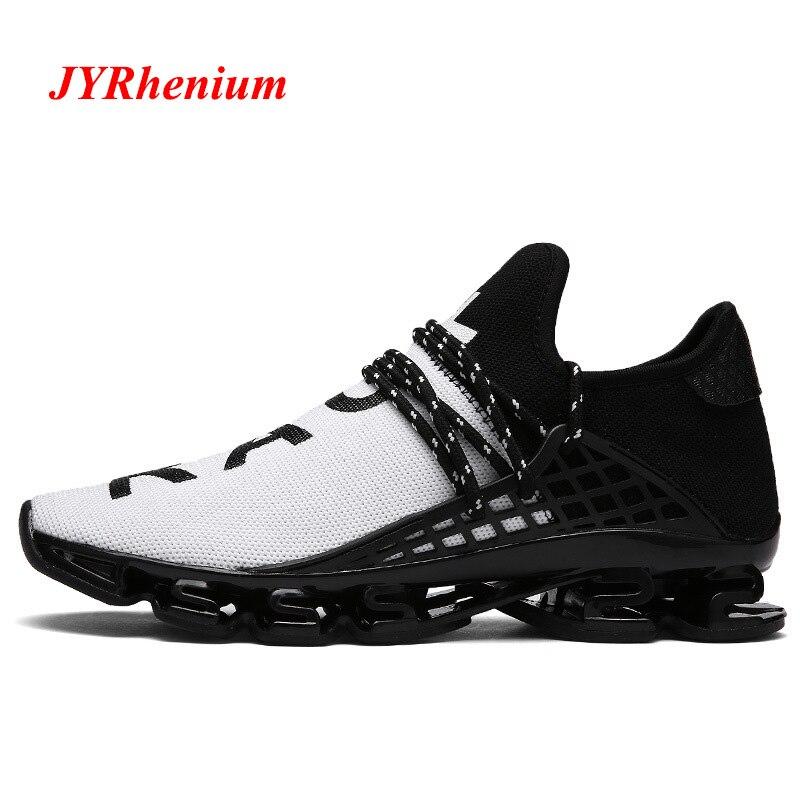 JYRhenium Neue Ankunft Große 36-48 Sporting Air Mesh Männer Schuhe Mann Laufschuhe Weiß Schwarz Red Athletisch Outdoor zu fuß Turnschuhe