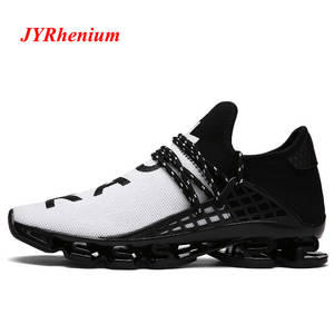 release date: 1aa6f 81e2c JYRhenium Man Running Shoes Black White Red Athletic Outdoor Walking  Sneakers