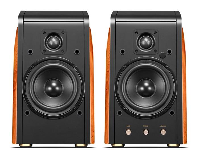все цены на M200MKIII+ HIFI Active 2.0 Speaker Bluetooth Speaker professional full electronic crossover Multimedia Speaker 2-way 89dB онлайн