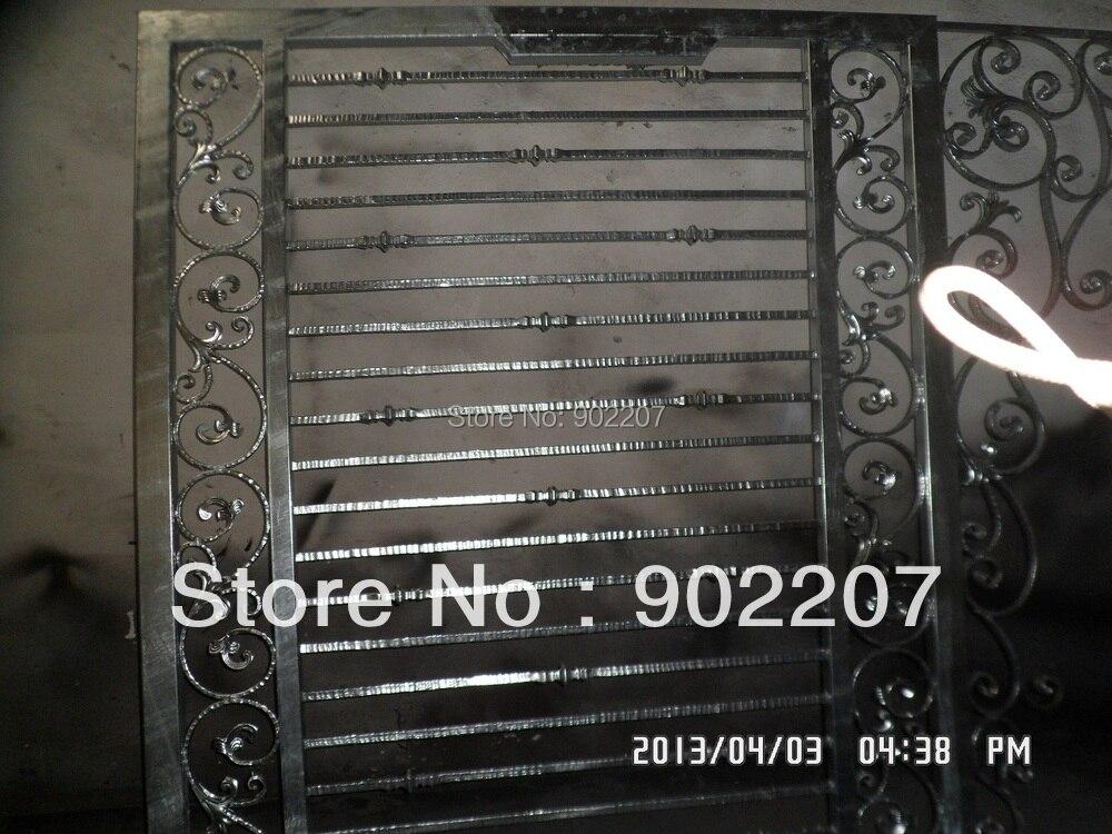 Новые дизайн-кованые ворота высокое качество кованые ворота-1212