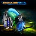 KOTION CADA G9000 3.5mm Gaming Headset Auriculares Auriculares Diadema con Micrófono Luz LED Para PS4 Portátil Tablet Teléfonos Móviles
