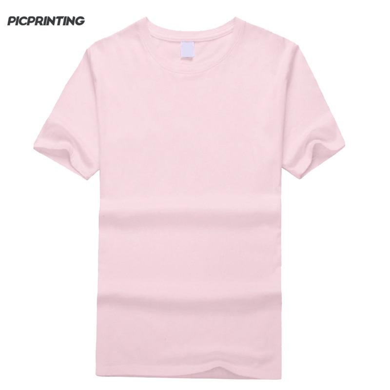 Can custom print logo women t shirt plus size tee short Custom printed women s t shirts