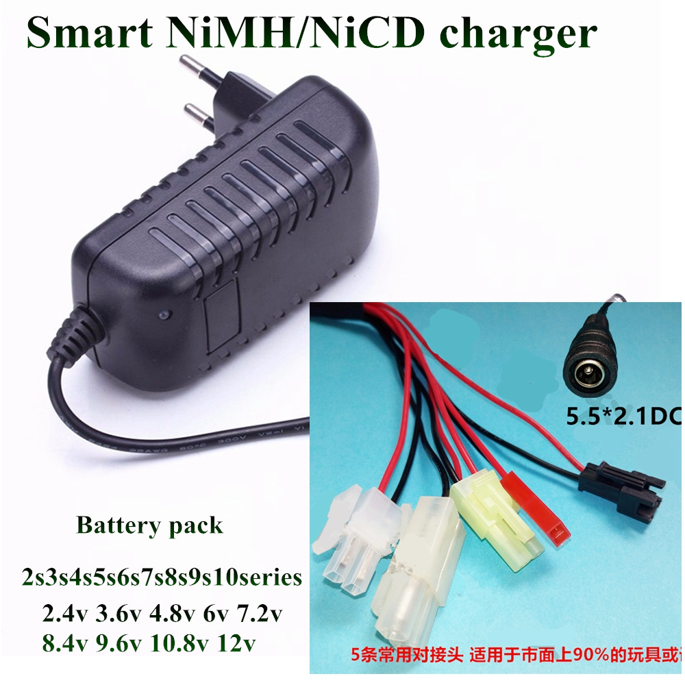 Smart Intelligent Charger For Nimh Nicd Battery 1 10s 12v 24v 36v How To Make A Circuit Homemade 1pcs 2 48v 6v 72v