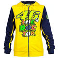 2016 New Valentino Rossi VR46 Motorcycle Hooded Jacket Casual Sweater Jacket