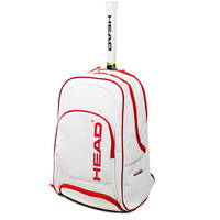 Head PU Tennis Bag Backpack With Shoes Bag For Racket Sports Christmas Commemorative Edition