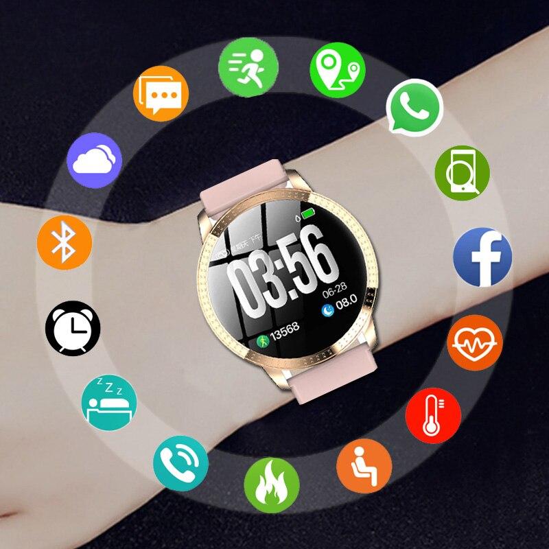 SANDA montre intelligente femmes montres dames marque de luxe Sport Style montre-bracelet pour femmes horloge femme montre-bracelet Hodinky Reloges