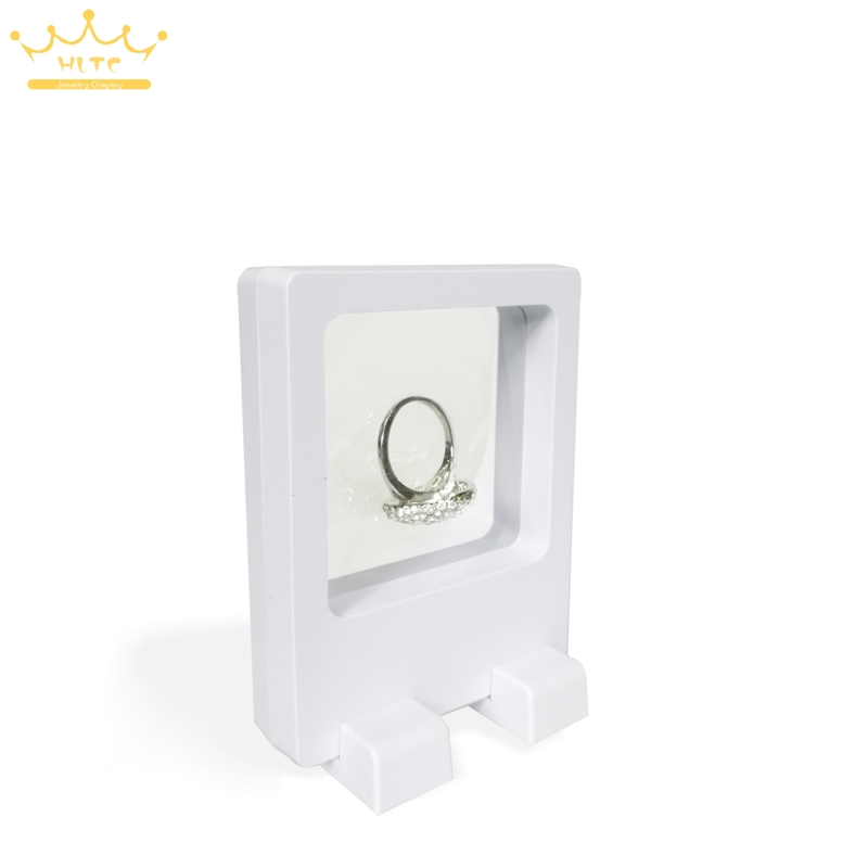 PET Membran Zubehör Schmuck Ring Verpackung 3D Display Box Bague ...