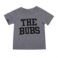 High Quality Infant Toddler Baby Boys Girls Clothes Cotton Summer Short Sleeve Top T-Shirts Unisex Kids Clothing