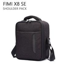 Torba na aparat o dużej pojemności dla Fimi X8 SE przenośna torebka do przechowywania walizka torba na ramię dla Fimi X8 SE akcesoria do dronów tanie tanio BEHORSE 30*22 5*12cm XIAOMI 480g Drone torby for Fimi X8 SE