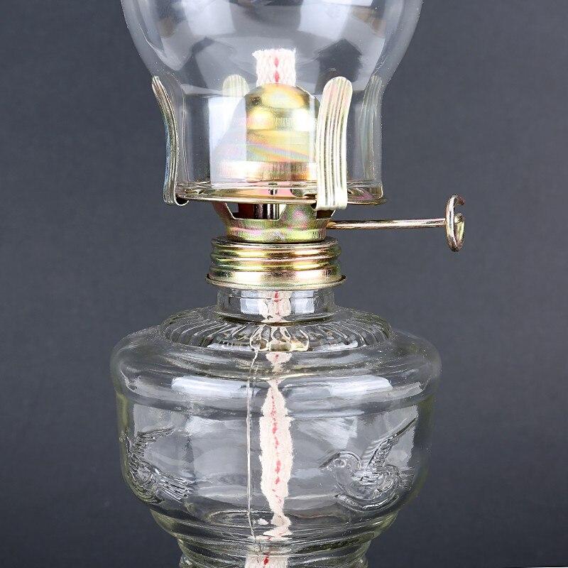 lâmpada óleo clássico retro família luzes decorativas
