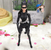 Movie The Dark Knight Catwoman Selina Kyle No 009 Cartoon Toy Action Figure Model Doll Gift