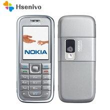 Remise à neuf d'origine Nokia 6233 téléphone mobile avec appareil photo 2MP 3G haut-parleur de soutien Russe menu clavier Russe livraison gratuite