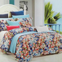 Nabi 250cm Wide Satin Cotton Fabric Custom Bed Sheets Quilt Bed Lin Bed Skirt Pillowcases Four