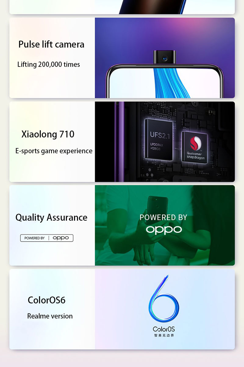 Details about Aus Stock Oppo Realme X Pro 6 53