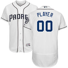 MLB hombres San Diego Padres Majestic gris camino blanco Home Camo Brown  Navy alternativo Base Flex auténtica colección Custom . ac07e8751