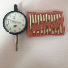 FUJISAN Dial Indicator 0-10mm Lug Back Test Gauge and 22 Piece Dial & Electronic Indicator Point Set Thread infrared reversing distance indicator electronic contest package electronic skills assessment distribution test