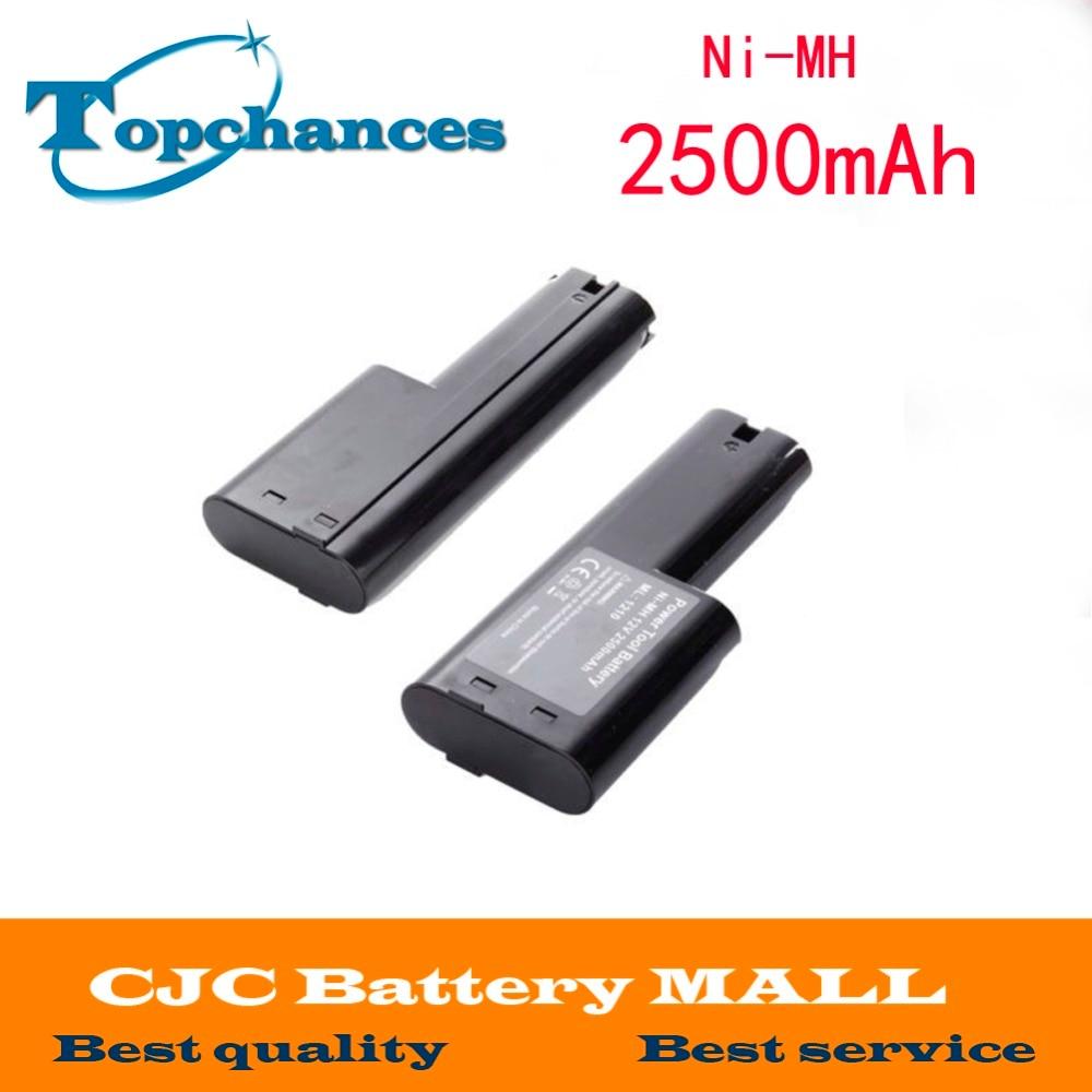 New 2500mAh 12V Ni-MH Battery for Makita 1210 632277-5 809432 12 Volt Power Tool 1 pc new power tool battery for ptc 18va 2500mah pc18b pc18b pcmvc pcxmvc pc1800d pc1801d 2611 2755 p20