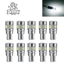 5Pcs  LED T10 3W 5733 6-SMD  6000K Cars From Canbus Led Light-Emitting Diodes Independent Led Bulb No Errors Univ era Auto Lamp