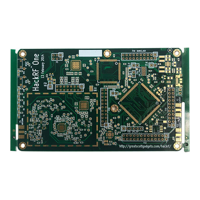 PCB For HackRF One Software Defined Radio RTL SDR 10 MHz To 6 GHz Great Scott Gadgets Not Including Any Components
