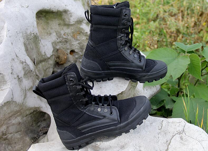 Home Realistisch 2018 Männer Armee Taktische Stiefel Winter Leder Militär Stiefeletten Sommer Wüste Sicherheitsschuhe Herrenschuhe Kampfstiefel