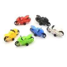 2 шт. Мотор велосипед модель тянуть назад мотоцикл автомобиль игрушки подарки дети дети дети% 27s обучающие игрушки