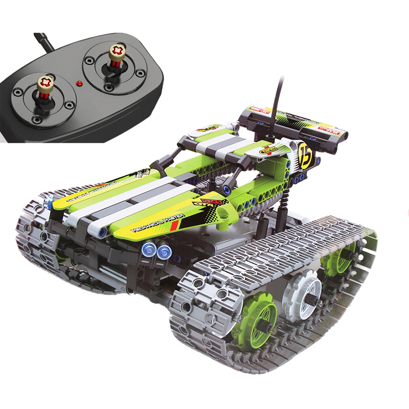 NEW 8015 353Pcs Technic The RC Track Remote-control Racer Building Block childrens toy birthday gift compatible with 42065NEW 8015 353Pcs Technic The RC Track Remote-control Racer Building Block childrens toy birthday gift compatible with 42065